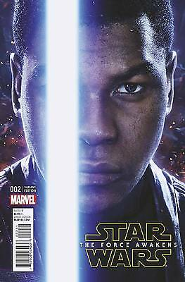 Star Wars: The Force Awakens  #2 Movie Photo Variant Cover - 1/15 Nm Or Better