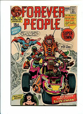 Forever People #1 NM 9.4 HIGH GRADE DC Comic KEY 1st Darkseid Silver Age 15c