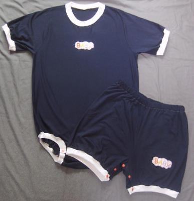 "ADULT Size BABY 44"" ONESUIT & BABY SHORTS w snaps,  by LL"