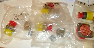 Aerospace & Military Grade Electronics - Connectors - Multiple P/Ns  - NEW