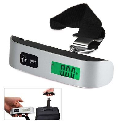 50kg/10g Digital LCD Portable Electronic Hanging Hook Luggage Scale Weight