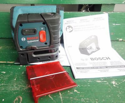 Bosch Gpl5 5-Point Alignment Self Leveling Laser New Diy Remodel Construction