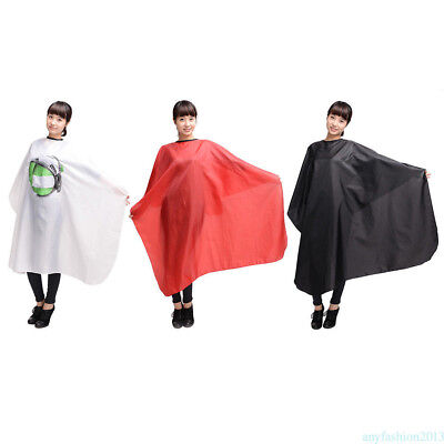 Salon Barber Accessories Waterproof Hairdressing Apron Shade Cape Cloth Gown