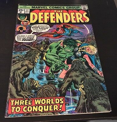 Defenders #27 FN+ 1st Starhawk Cameo Guardians Of The Galaxy Vol. 2 Movie