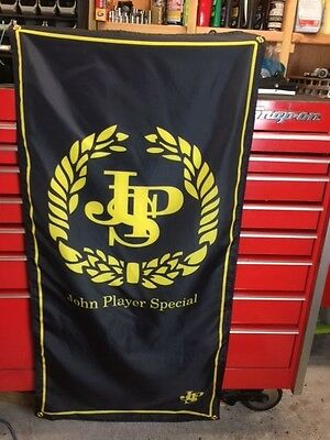 JPS John Player Special Flag ~ lotus f1 motor racing 72 98t touring car dtm