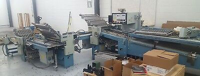 1994 MBO B26 4/4/4 Batch Counter Continuous Feed Folder 26x50 GATE FOLD