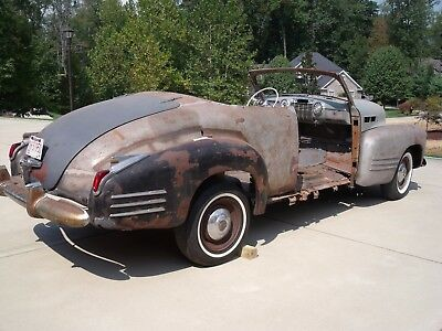 1941 Cadillac Series 62 Deluxe 1941 Cadillac Series 62 Deluxe Convertible Coupe Project Car