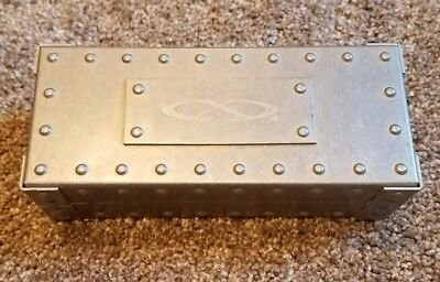 Oakley X Metal Vault Case Large Silver for Juliet Squared Mars Penny Romeo Rare