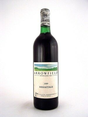 1989 ARROWFIELD WINES Hermitage Shiraz Isle of Wine