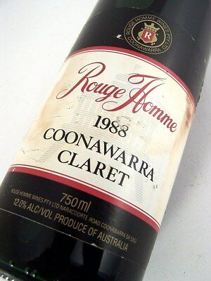 1988 ROUGE HOMME Claret Red Blend Isle of Wine