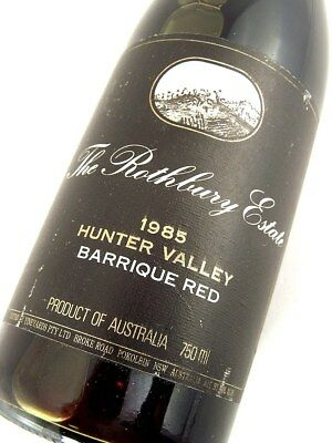 1985 ROTHBURY ESTATE Barrique Red Shiraz Isle of Wine