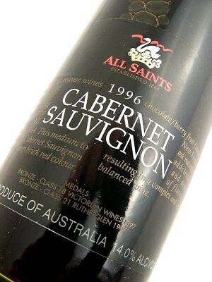 1996 ALL SAINTS Classic Release Cabernet Sauvignon Isle of Wine