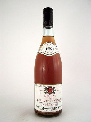 1982 PAUL JABOULET Muscat de Beaumes de Venise Isle of Wine