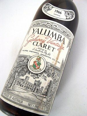 1966 YALUMBA Galway Claret Red Blend A Isle of Wine