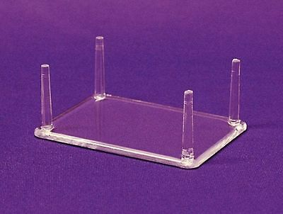 """100 Medium 4-1/4"""" Four (4) Peg Display Stand For Fossils Fossil"""