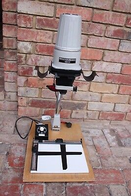 Photographic Enlarger Meopta Opemus 111 6X6Cm With 75Mm Lens ,timer And 8X10 Es
