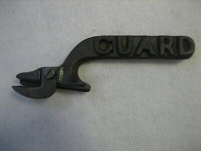 Antique Cast Iron GUARD Can Opener