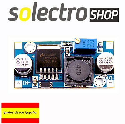Reductor Convertidor LM2596 DC 3A 1,25-32V Regulable  Fuente Arduino A0004