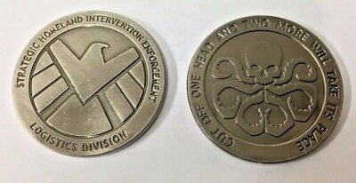 Agents of S.H.I.E.L.D Collectible Coin Marvel Avengers Agents of shield Rare new