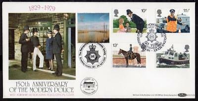 GB 1979 150th Anniversary of the Modern Police Cover with SHS B.O.C.S.14