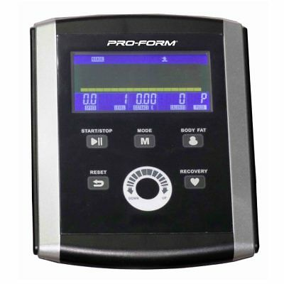 Proform 700 Space Saver Cross Trainer Console