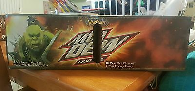 1 unopened can of World of warcraft mountain dew game fuel