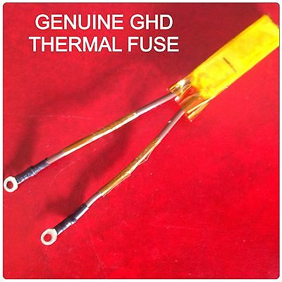 100% Genuine Ghd Thermal Fuse Wrapped In Kapton Tape.