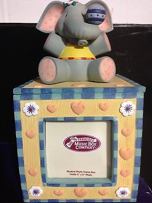 Baby Express Musical Photo Frame Cube  By San Francisco  Music Box Company