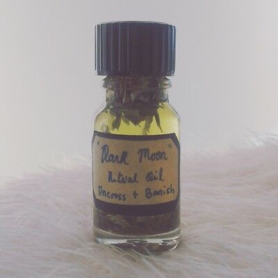 Dark Moon Ritual Oil,Uncrossing, Ritual Anointing oil, Witchcraft, Pagan