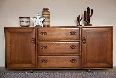 Ercol Windsor sideboard cabinet- absolutley pristine condition- well cared for