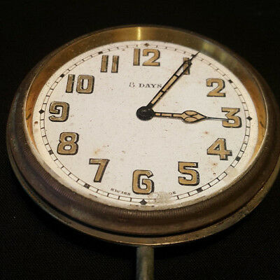 Vintage  Swiss Travel/Pocket Clock.
