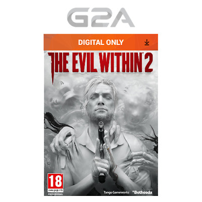 The Evil Within 2 II Key [Action PC Game] STEAM Download Code [CA] [US] NEW
