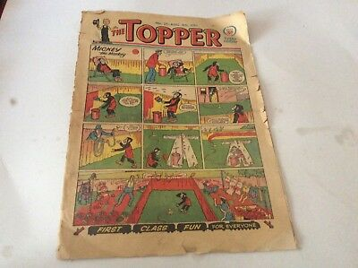 RARE early TOPPER NO 27 Aug 8th 1953 Greats 50s comic