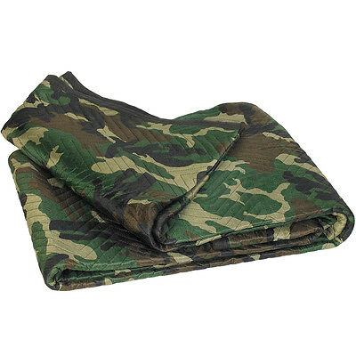 "Box Partners Moving Blankets 72"" x 80"" Camouflage 6/Bundle MB7280C"