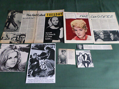 Tuesday Weld - Film Star - Clippings /cutting Pack