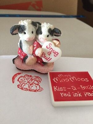 Mary Moo's cow Stamp Plus Ink Pad