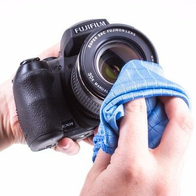 LARGE CAMERA LENS CLEANING/POLISHING CLOTH Microfibre 40 x 50cm Optical Cleaner
