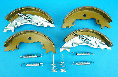 160x35mm Mk3 Knott Avonride Type Trailer Brake Shoes Auto Reverse 160x35