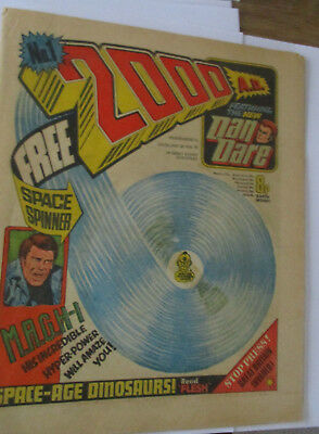 2000 AD number one RARE #1 no gift
