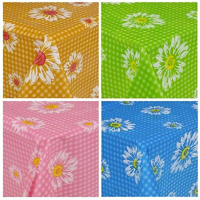 Plastic Summer Rectangle Tablecloth Reusable Table Cloth Tableware Outdoor New