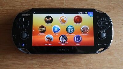 Sony PlayStation PS Vita Console with 4GB memory card