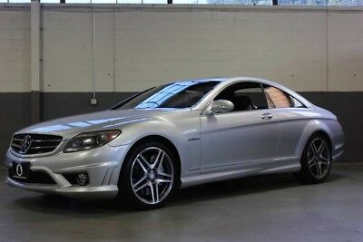 2008 Mercedes-Benz CL-Class Base Coupe 2-Door BEAUTIFUL 2008 MERCEDES-BENZ CL63, LOADED WITH OPTIONS, JUST SERVICED!!!