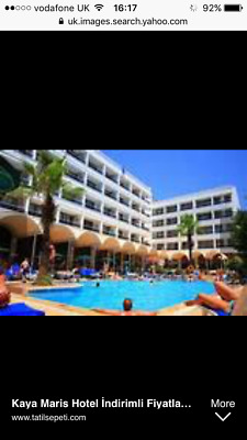 holiday 4* all inclusive holiday 2 adults 1 child Turkey 12/10/2017