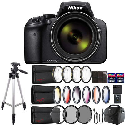 Nikon COOLPIX P900 Digital Camera with 83x Optical , WiFi enabled & Accessories