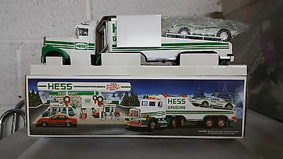 Hess 1991Toy Truck And Racer Mint in Box