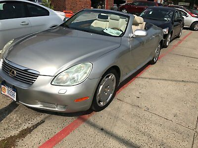 2003 Lexus SC Light wood 2003 Lexus SC430 Convertible -- Excellent Condition!