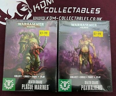 Warhammer 40K Easy Build 'Death Guard Plague Marines & Poxwalkers' BNIB