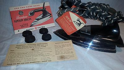 Vintage General Electric Visualizer Speed Iron