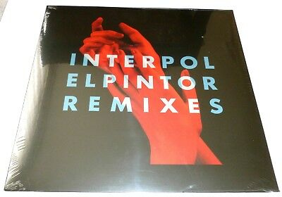 """Interpol - Elpintor remixes   LIMITED RSD 8 TRACK 12"""""""