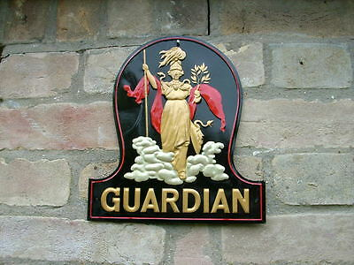 A Genuine Guardian Assurance Fire Mark in Excellent Condition.